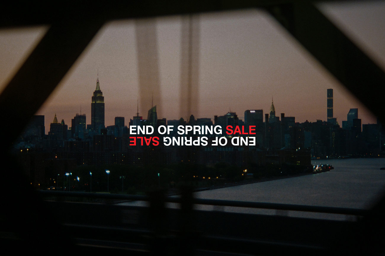 2020 END OF SPRING SALE