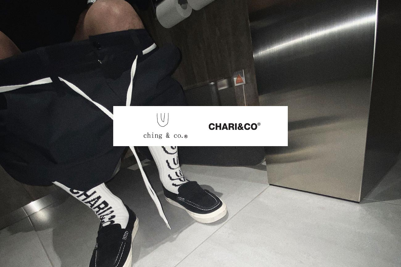 CHARI&CO × F/CE. × NANGA HALF DOWN PARKER