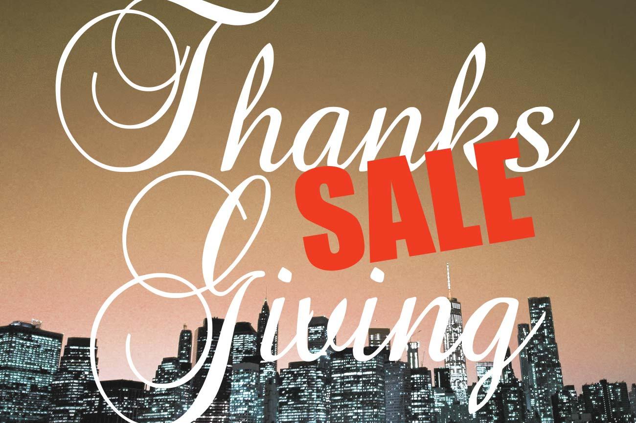 CHARI&CO 2020 Thanks Giving Sale