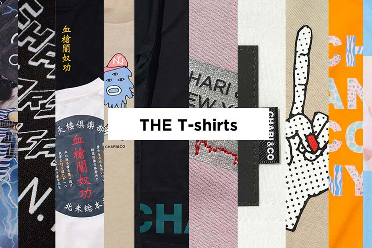 CHARI&CO 2020 T-Shirt Collection