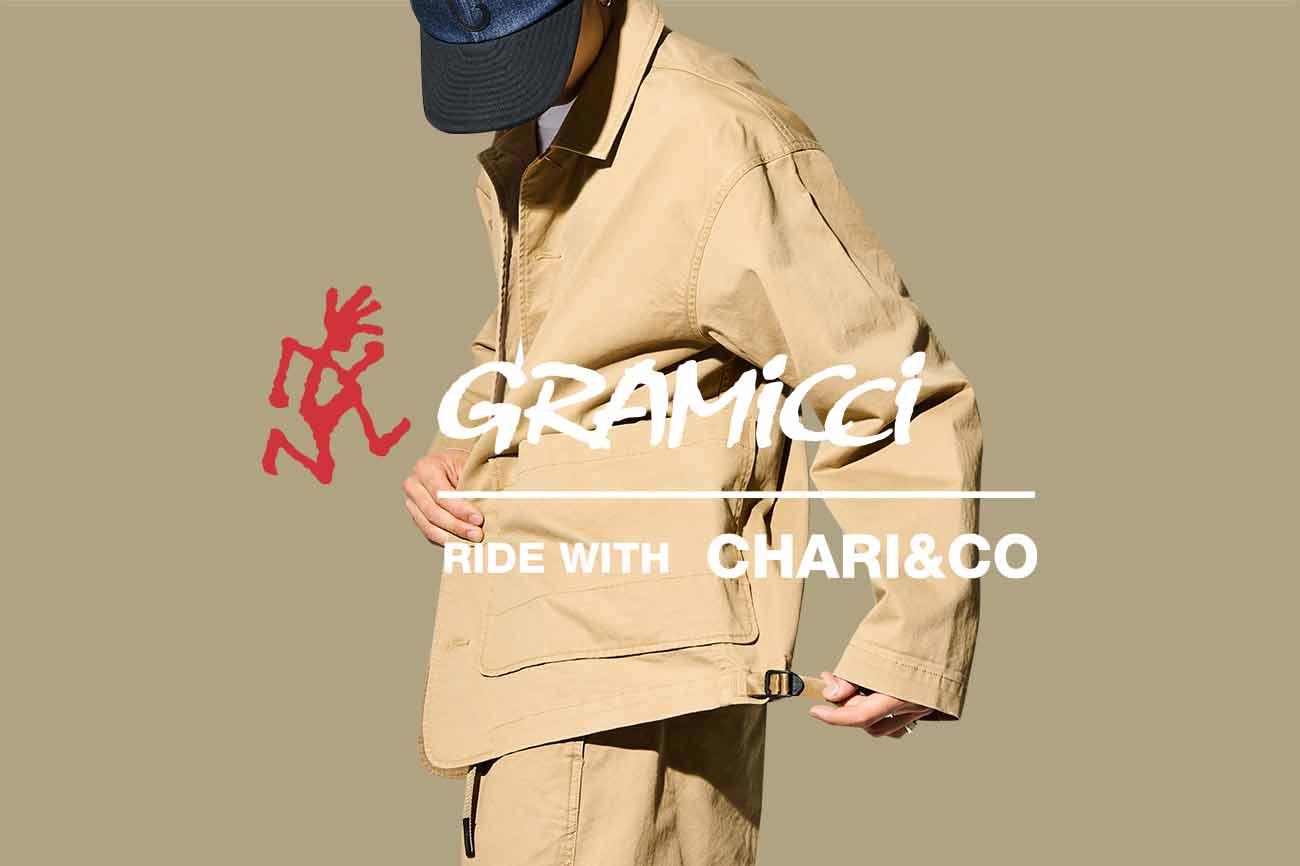 2021 CHARI&CO × GRAMICCI コラボ