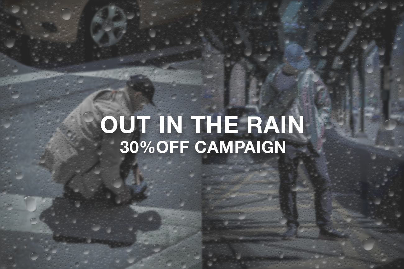 OUT IN THE RAIN