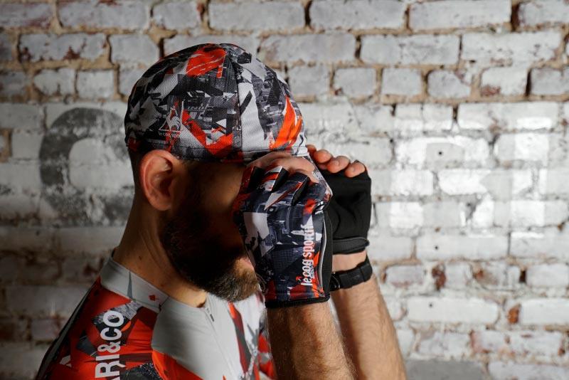 × le coq sportif 19 TEAM HALF FINGER GLOVE 手袋 グローブ