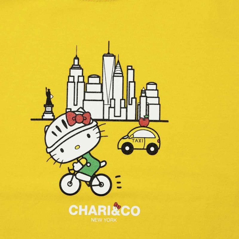 HELLO KITTY SAFE RIDE KIDS TEE Tシャツ