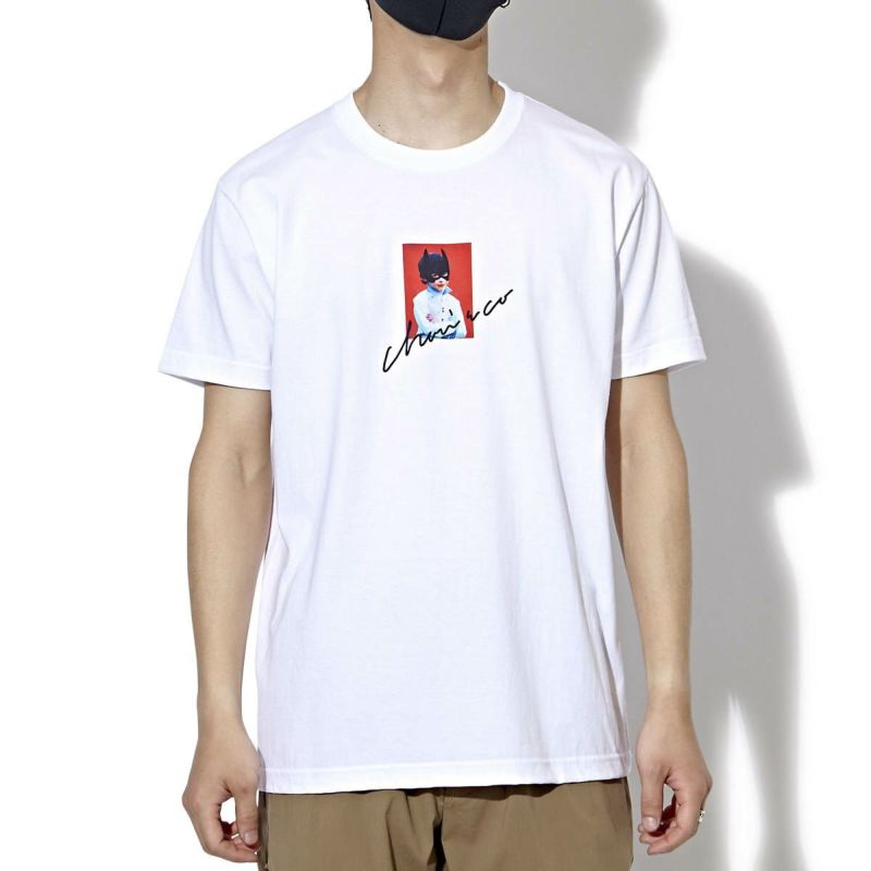 MASK ON MEMORY PHOTO TEE Tシャツ