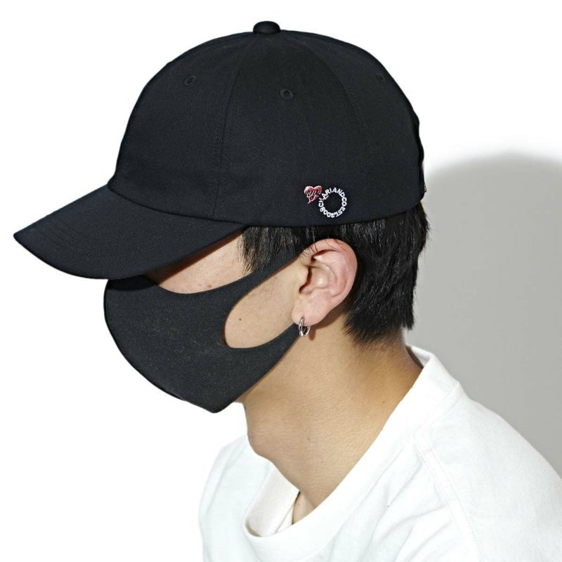 HEART LOCKS THE CIRCLE POLO CAP キャップ 帽子