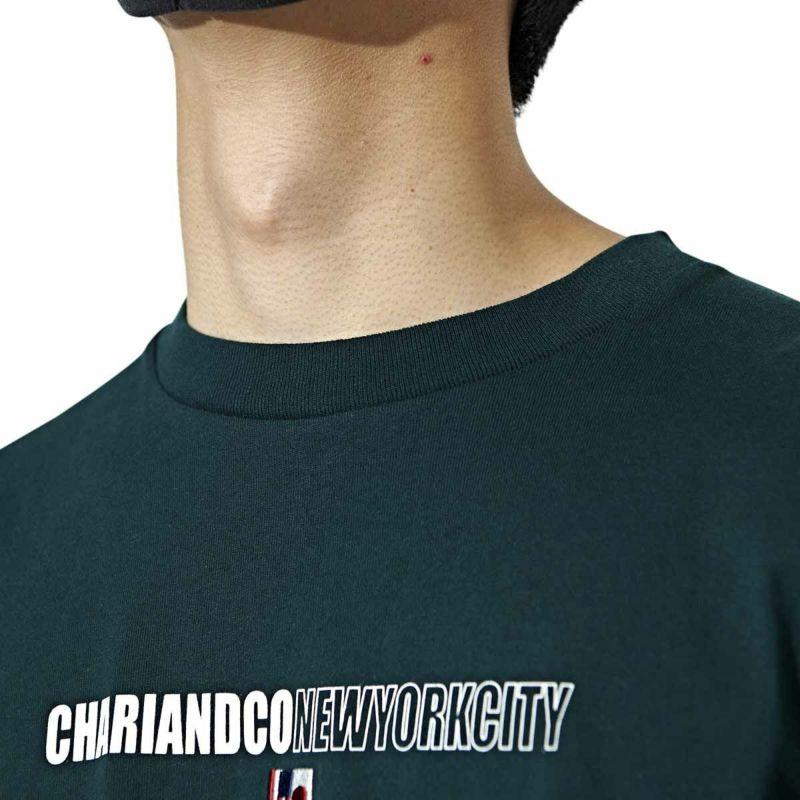 CHARIKO THE CITY L/S TEE Tシャツ ロンT