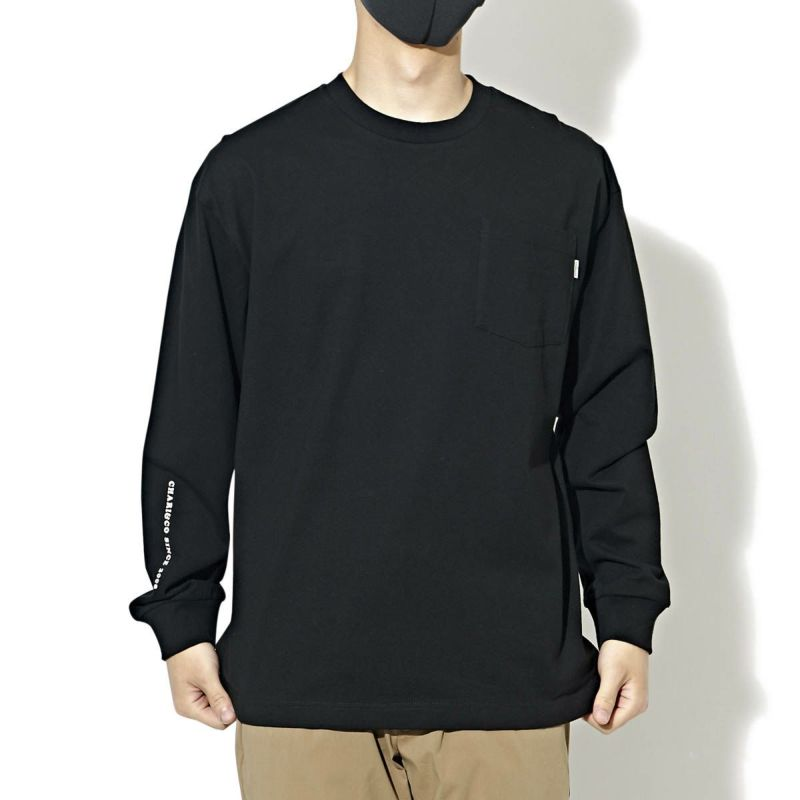 CONNIE WELCOME TO THE BIG APPLE L/S TEE Tシャツ ロンT