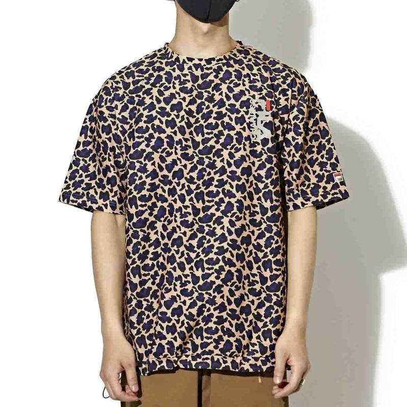 × FILA URBAN REOPARD TEE Ⅱ Tシャツ