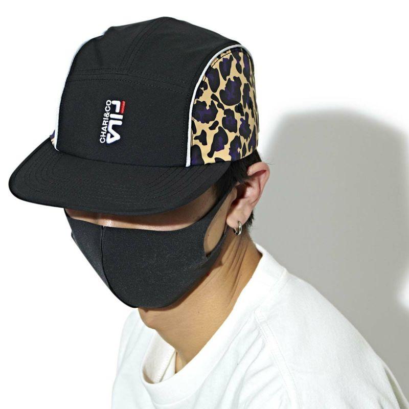 × FILA URBAN REOPARD 5 PAMEL CAP キャップ 帽子