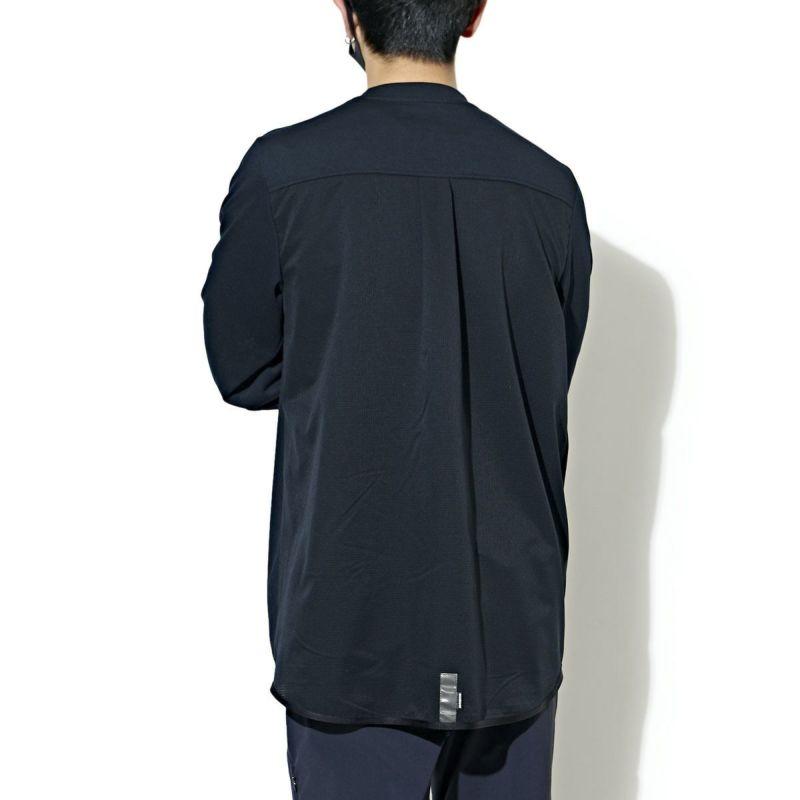 SPLIT BACK MESH L/S TEE Tシャツ ロンT