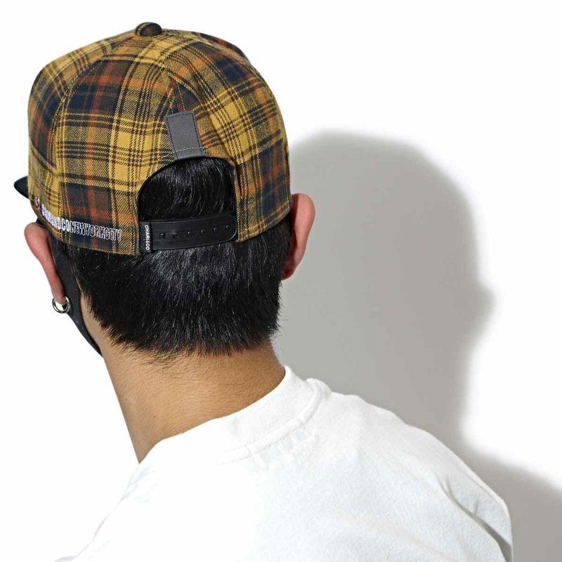 CHARIKO THE CITY CHECK SNAPBACK CAP キャップ 帽子