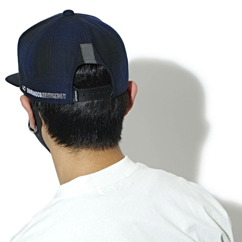 CHARIKO THE CITY CHECK SNAPBACK CAP キャップ 帽子
