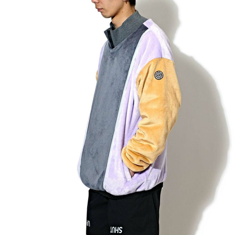 BOTTLE NECK FLEECE PULLOVER シャツ