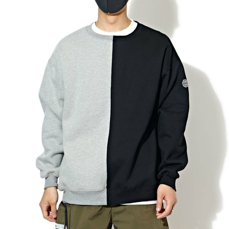 SPLIT CREWNECK SWEATS スウェット