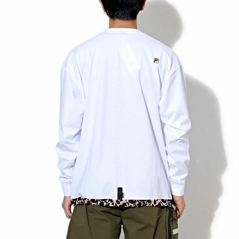 × FILA URBAN LEOPARD L/S TEE Tシャツ