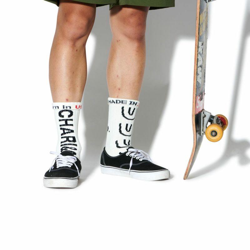 CHING&CO & CHARI&CO SKATE SOCKS ソックス 靴下