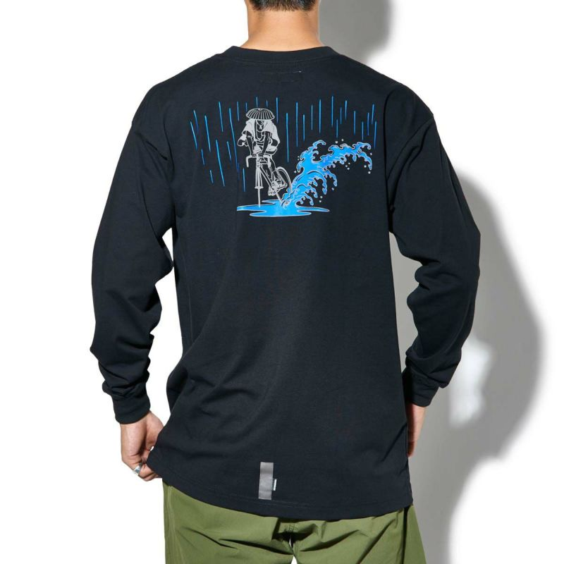 x NAGA SKID IN THE RAIN L/S TEE Tシャツ ロンT
