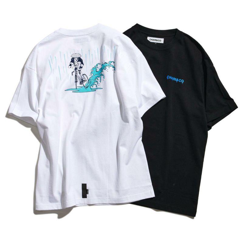x NAGA SKID IN THE RAIN TEE Tシャツ
