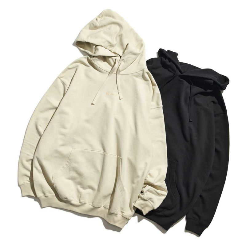 EMBROIDERY BOLD LOGO HOODIE SWEATS スウェット