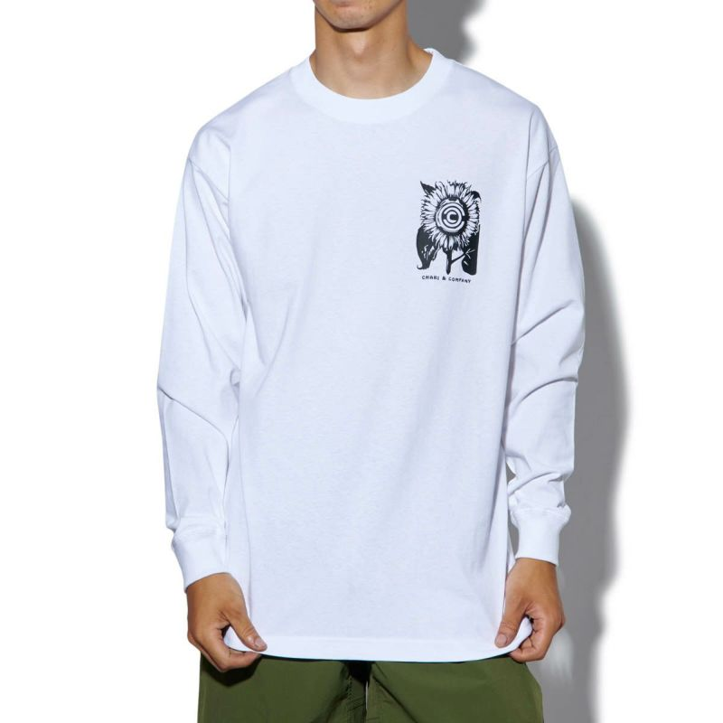 x MIKE SCHMITT LET'S GROW US L/S TEE Tシャツ ロンT