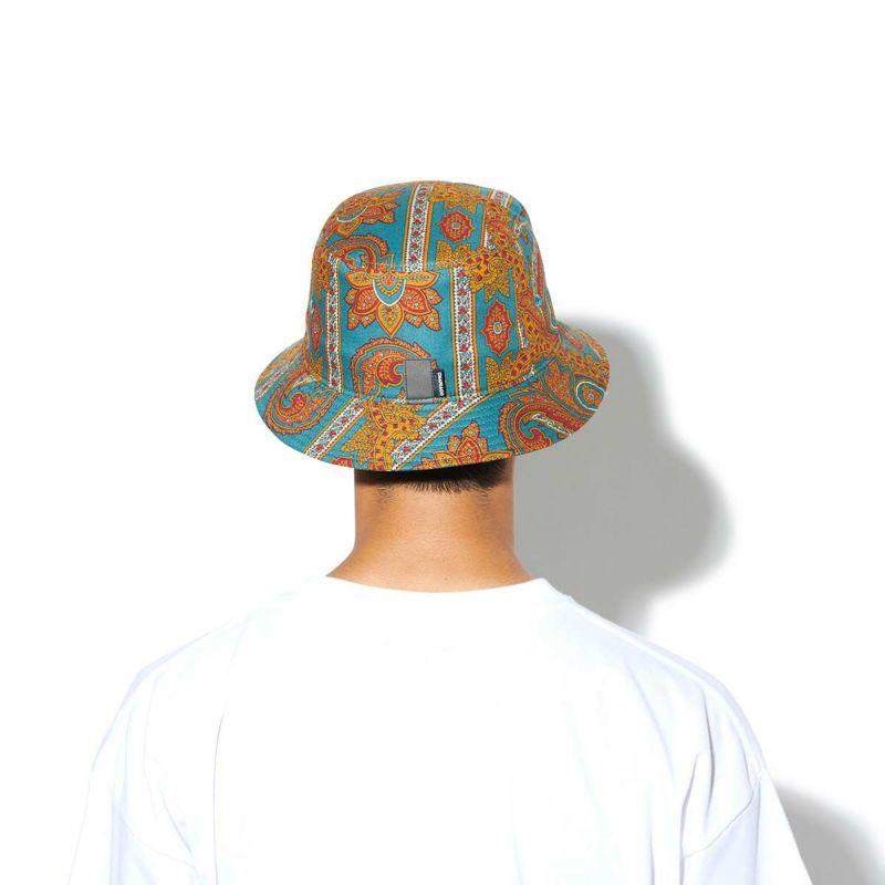 USA FABRIC PAISLEY BUCKET HAT キャップ 帽子