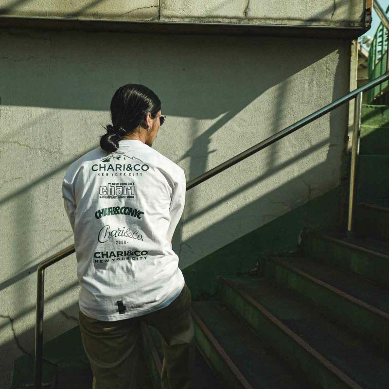 SEVERAL LOGOS L/S TEE Tシャツ ロンT