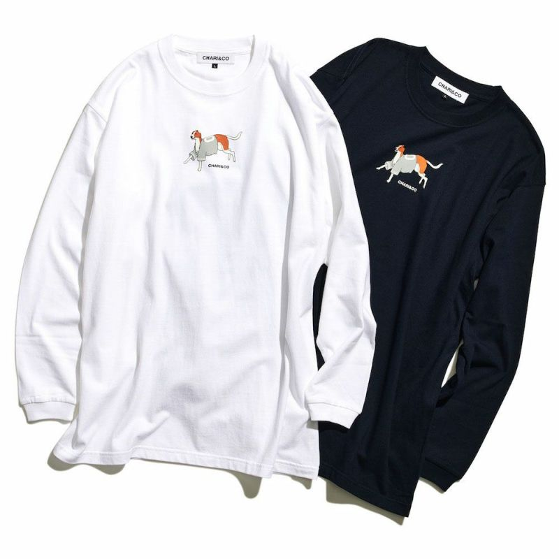 WEARING BASEBALL SHIRTS DOG L/S TEE Tシャツ ロンT