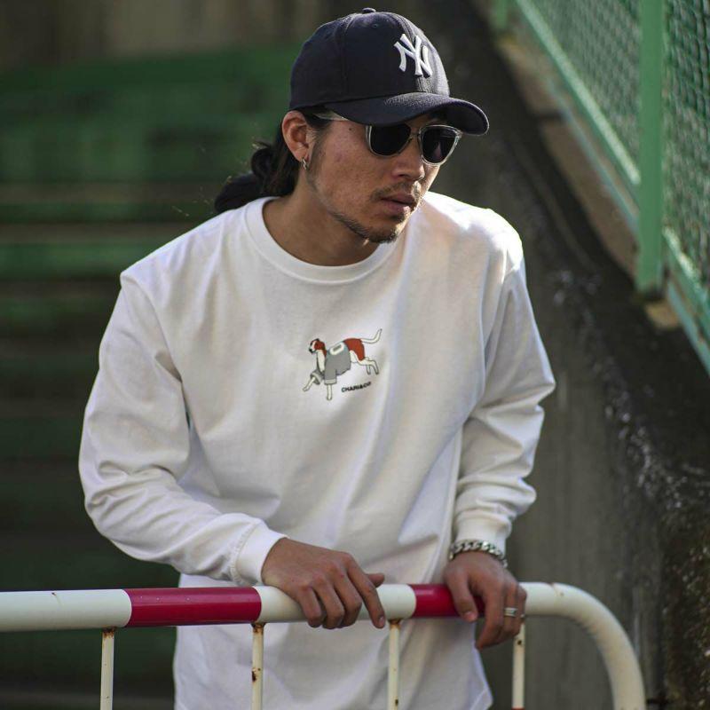 WEARING BASEBALL SHIRTS DOG L/S TEE Tシャツ ロンT
