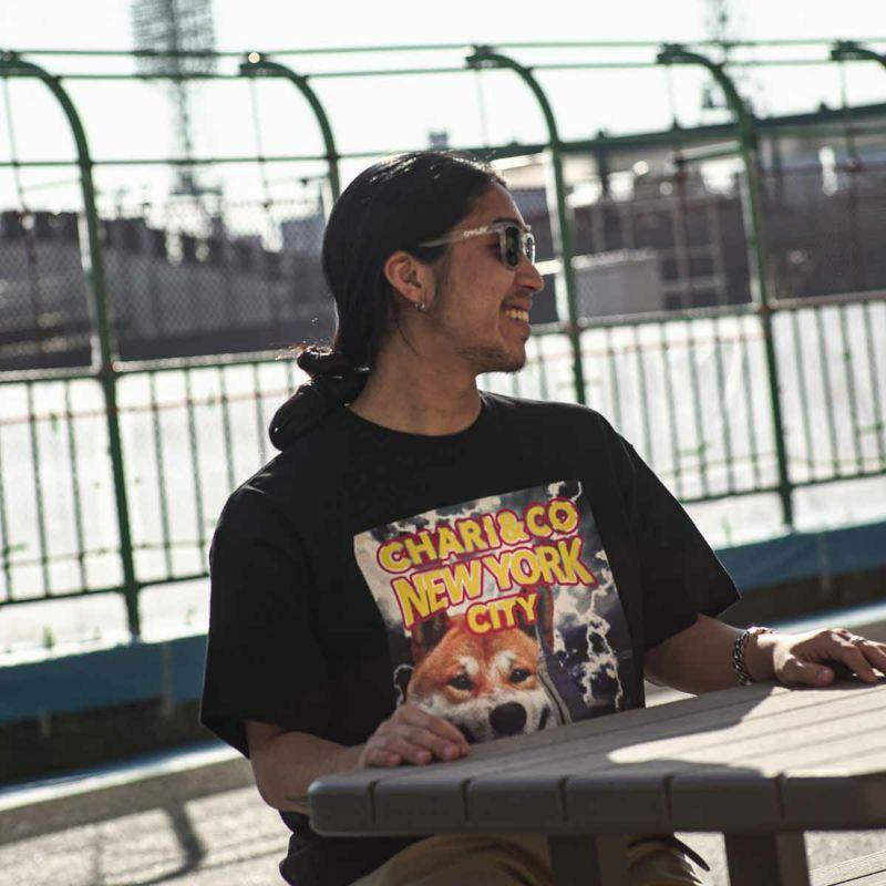 SHIBA ON THE CITY TEE Tシャツ