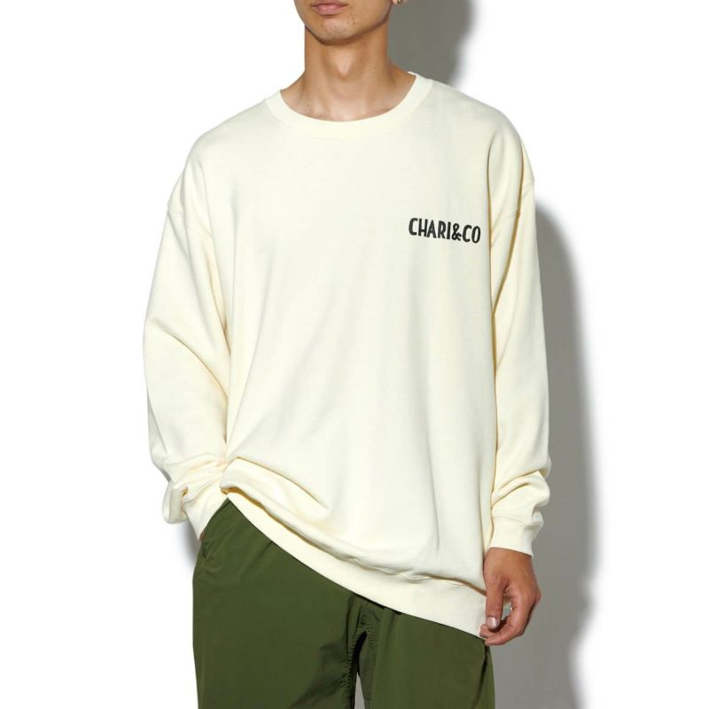 x HANAI YUSUKE MECHANIC SPACE CREWNECK SWEATS スウェット