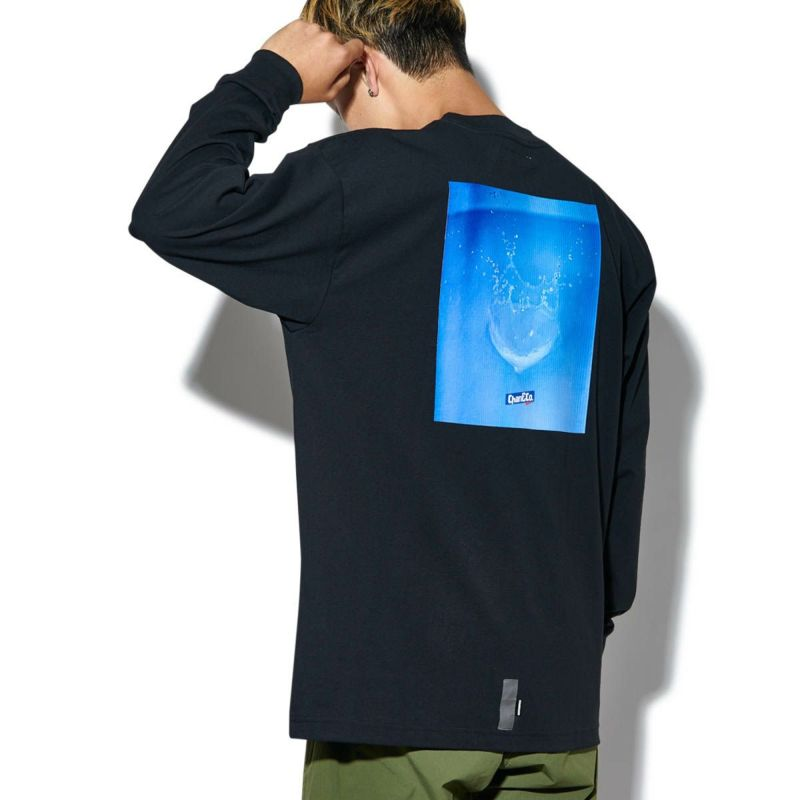 SPLASHED L/S TEE Tシャツ ロンT