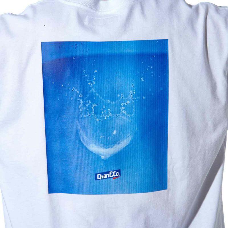 SPLASHED L/S TEE Tシャツ ロンT