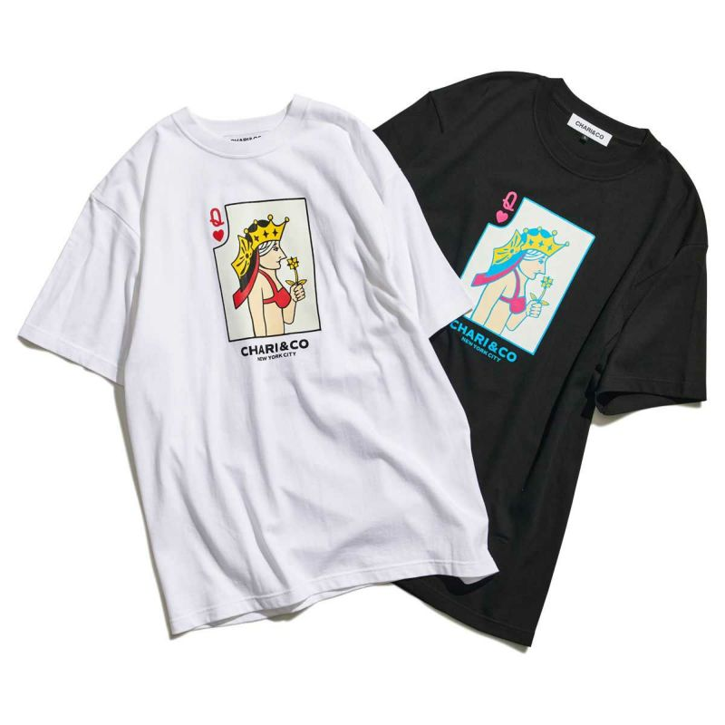 BIKINI QUEEN CARD TEE Tシャツ