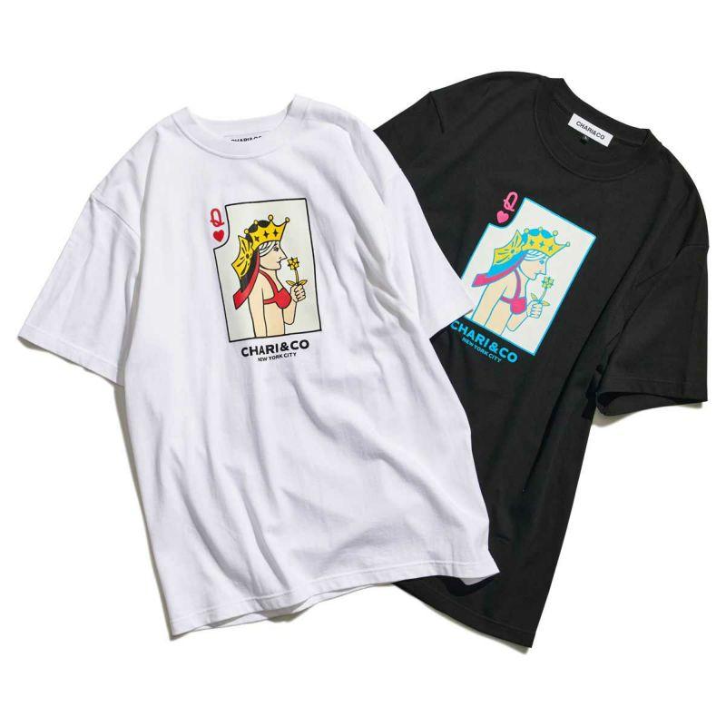 BIKINI QUEEN CARD TEE Tシャツ