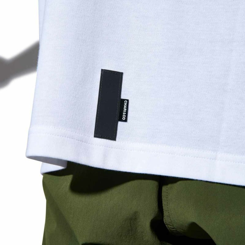"""EMBROIDERY BOLD LOGO TEE """"CTET"""" Tシャツ"""