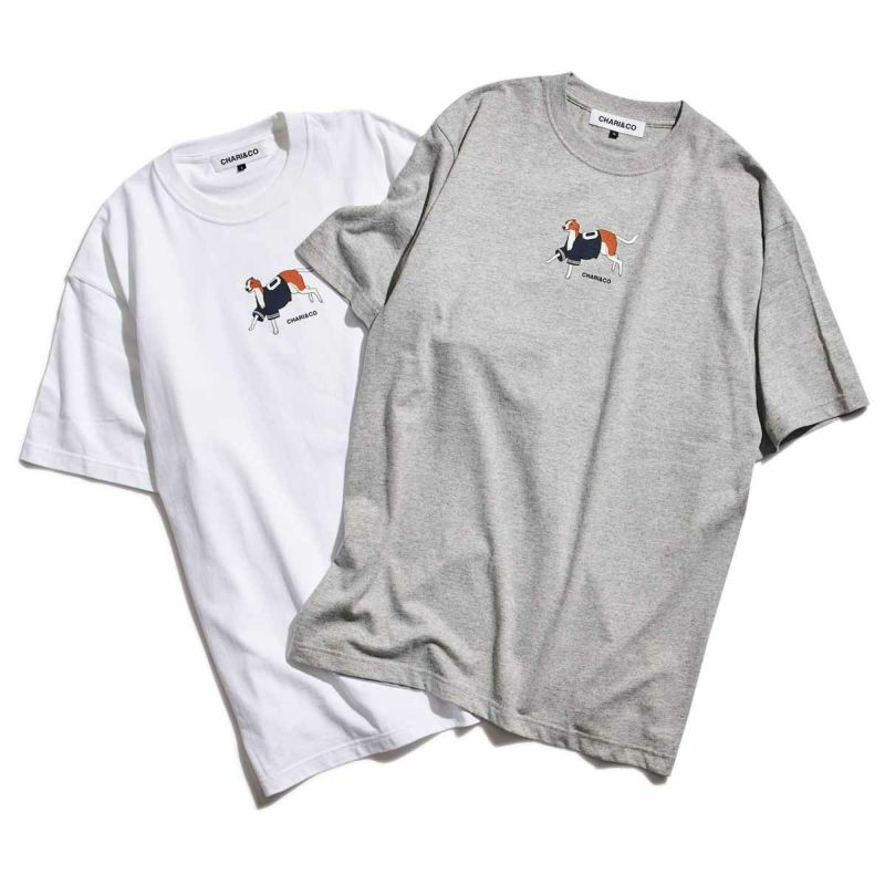 WEARING BASEBALL SHIRTS DOG TEE Tシャツ