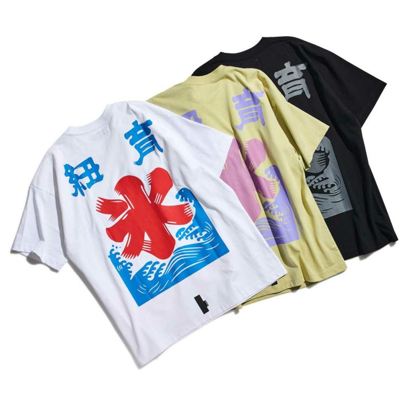 SHAVED ICE FLAG PKT TEE Tシャツ