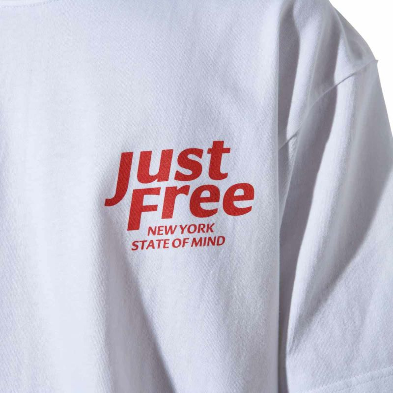 JUST FREE NYC TEE Tシャツ