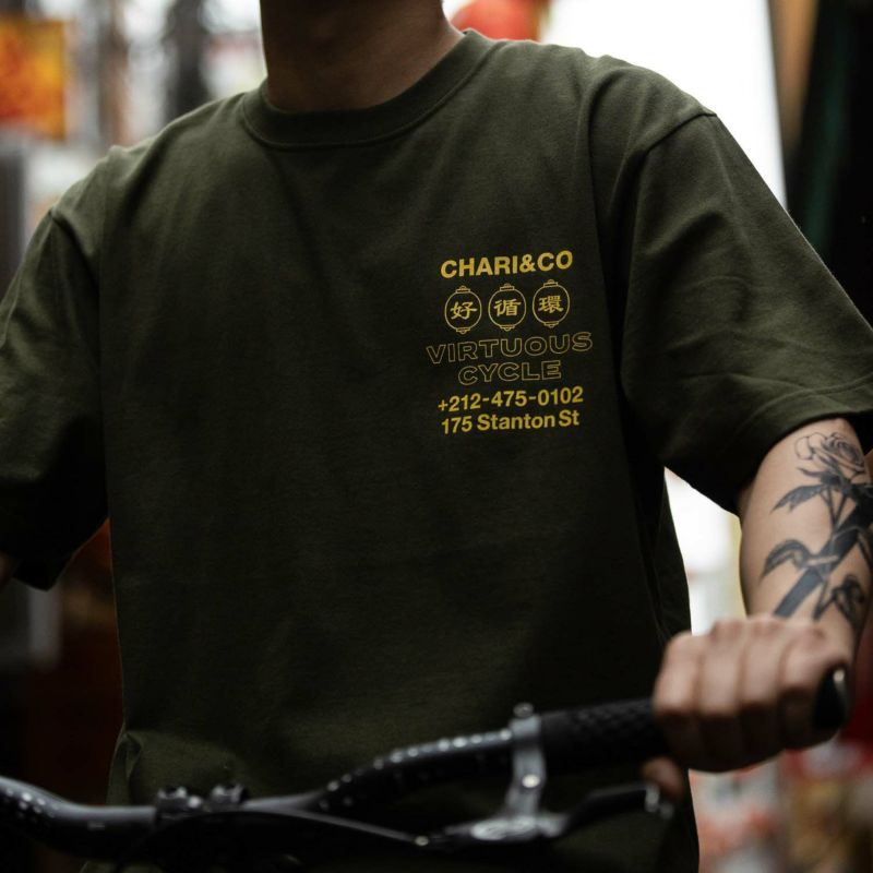 SHOP IN CHINATOWN TEE Tシャツ