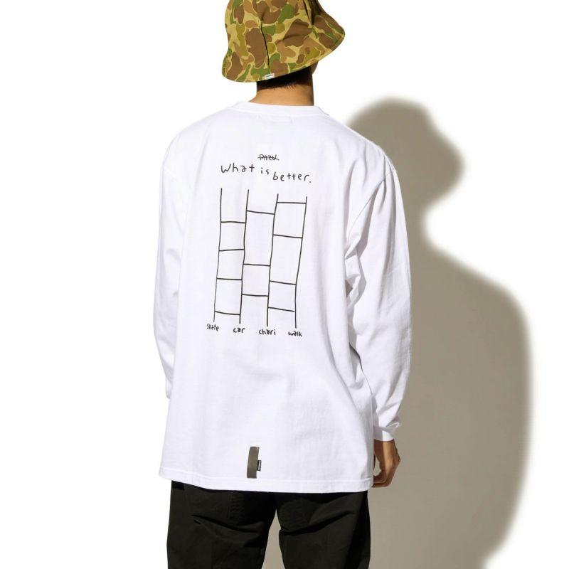 × DAZU GHOSTLEG LOTTERY L/S TEE Tシャツ ロンT