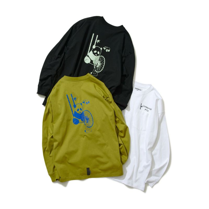 PANDA BEAR L/S TEE Tシャツ ロンT