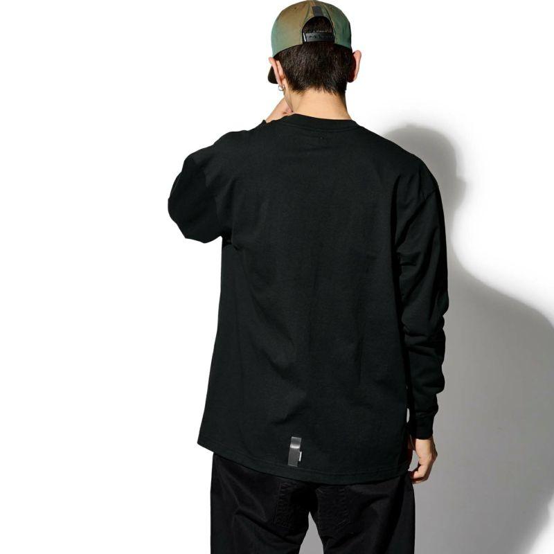 PHYSICAL LOGO POCKET L/S TEE Tシャツ ロンT