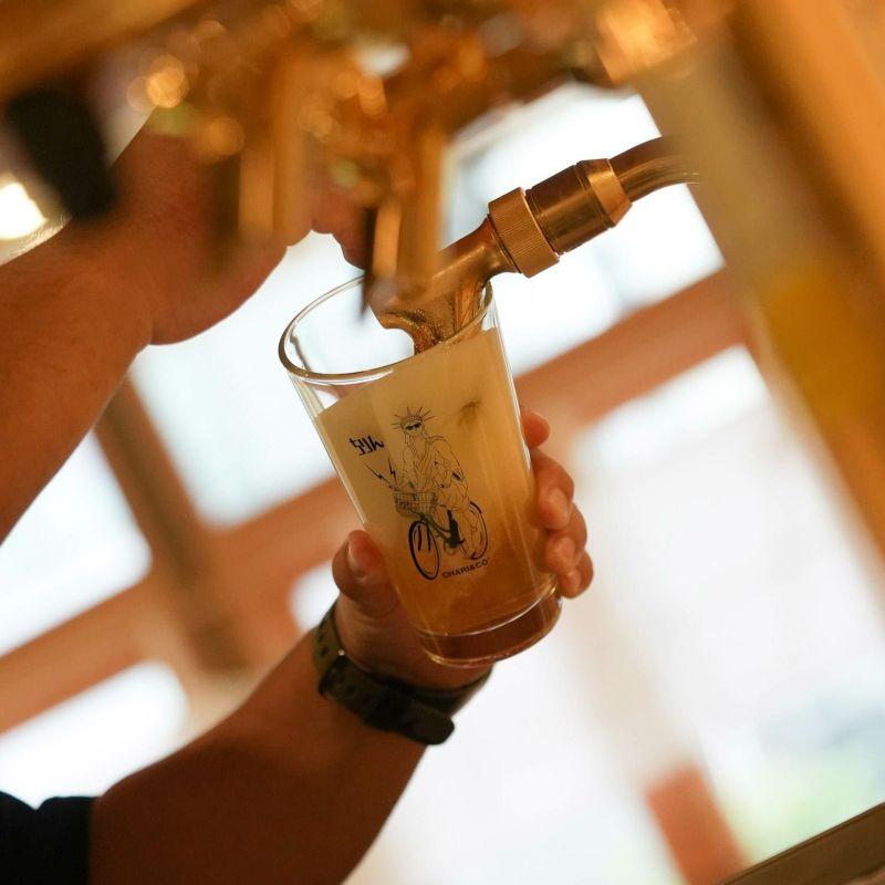 × CHILLIN' BEER GLASS グラス コップ