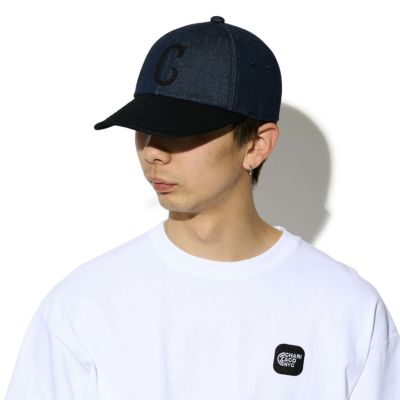 FELT LOGO DENIM CAP キャップ 帽子